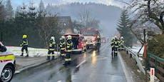 Frau stirbt bei Haus-Brand in Bad Aussee
