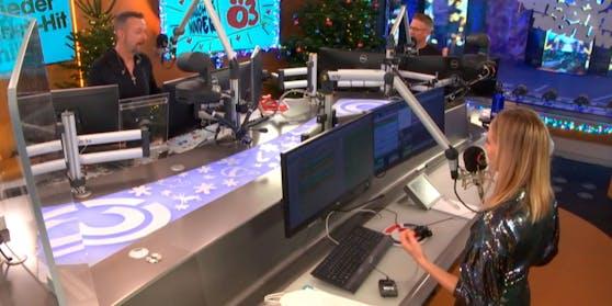 Ö3-Weihnachtswunder: Robert Kratky, Tina Ritschl und Andi Knoll senden 120 Stunden live