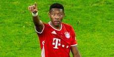 Triple-Sieger Alaba Österreichs Fußballer des Jahres