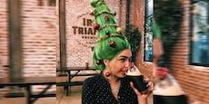 Christmas Tree Hair: So kitschig ist keine Trend-Frisur