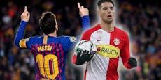 Nur Barca in der Champions League besser als Salzburg