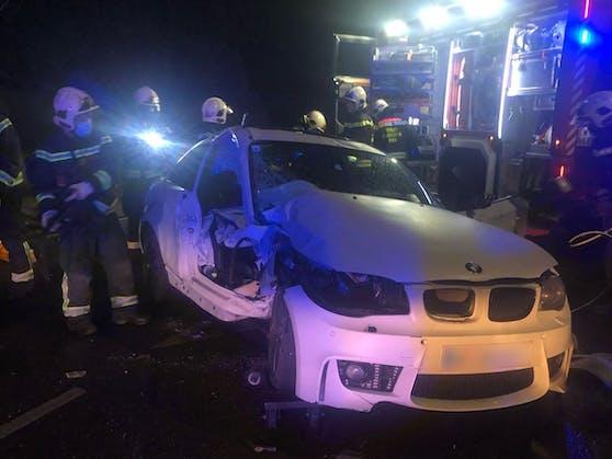 BMW-Unfall in Wien