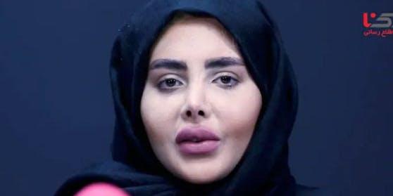 Sahar Tabar zeigt sich ohne Make-up.