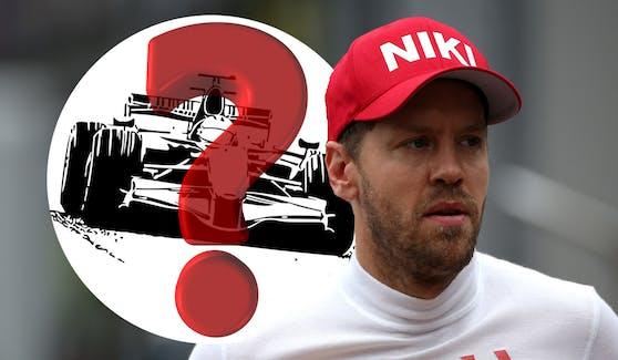 Sebastian Vettel wechselt von Ferrari zu Aston Martin.