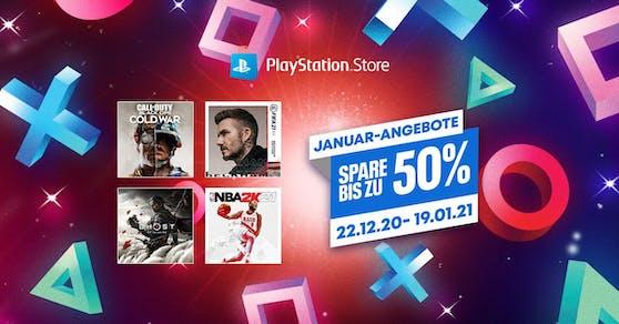 Januar-Angebote ab sofort im PlayStation Store gestartet.