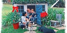 Sussex-Weihnachtskarte verrät Archies Haarfarbe