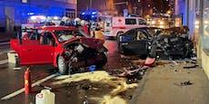 Mehrere Verletzte bei schwerem Unfall in Wr. Neustadt