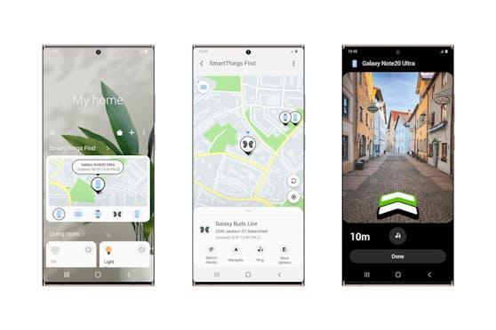 Samsung launcht SmartThings Find: Galaxy Devices einfach suchen und finden.