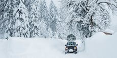 Weiße Weihnachten! Hier fällt jetzt noch Schnee