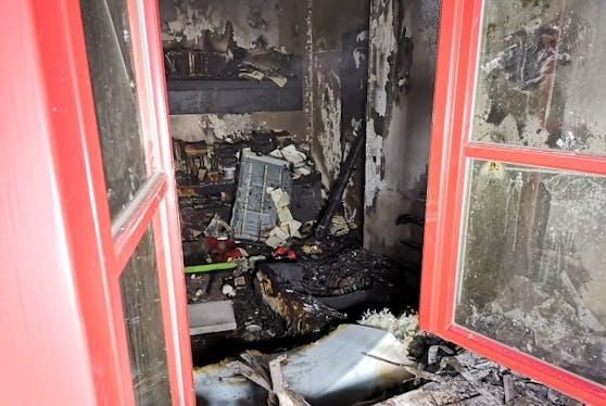 40 Leute aus der Wohnhausanlage mussten evakuiert werden.