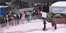 Regierung droht mit der Schließung der Skilifte