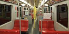 So leer sind U-Bahnen zu Weihnachten vor Lockdown