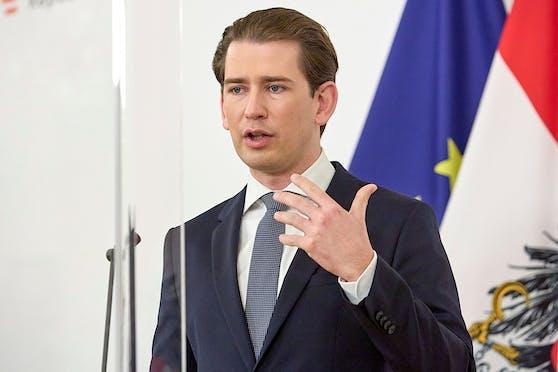 Bundeskanzler Sebastian Kurz.
