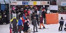 Sind halb leere Lifte schuld am Skigebiets-Chaos?