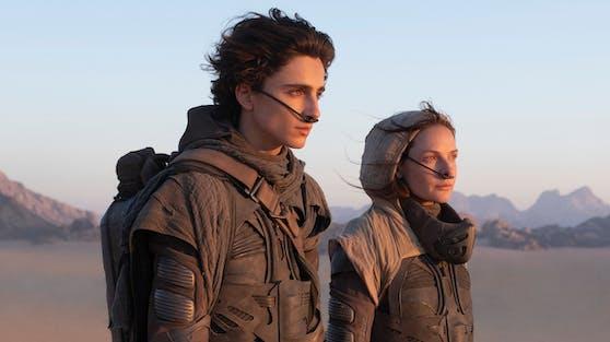 """In der bildgewaltigen """"Dune""""-Neuverfilmung soll Timothée Chalament das Herz von Science-Fiction-Fans wieder höher schlagen lassen."""