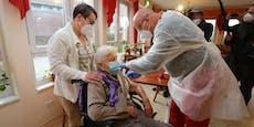 101-Jährige bekommt erste Corona-Impfung in Deutschland