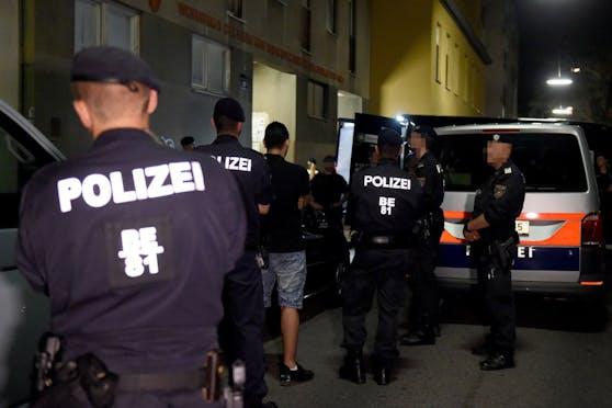 Polizei-Einsatz in Wien