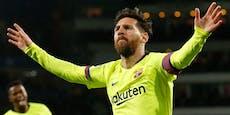 Wechselwilliger Messi bekommt von Barca Sonderurlaub