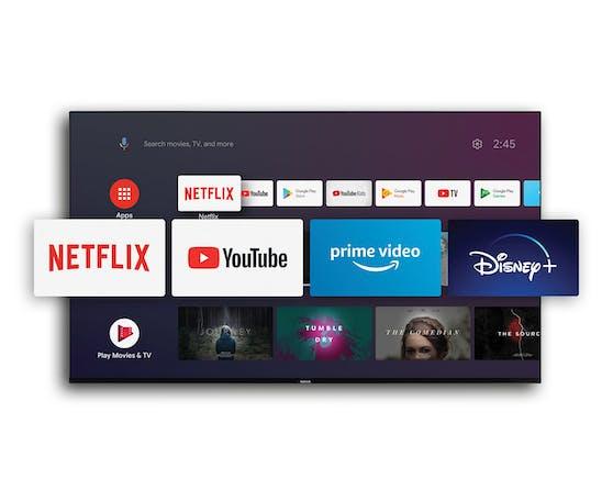 Nokia Smart TVs versprechen smartes Entertainment mit Zugriff auf beliebte Streaming-Dienste.