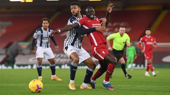 Sadio Mane (r.) brachte Liverpool in Führung.