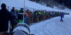Massen stürmen Skigebiete – Betreiber ziehen Notbremse