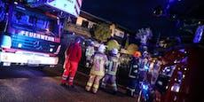 Nach Brand verschwundene Frau erfrorenen aufgefunden
