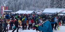 """Minister zu Ski-Ansturm: """"Abstände werden eingehalten"""""""