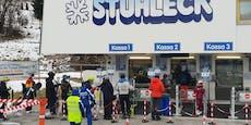 """Skigebiet zu Staus: """"Bobfahrer waren das Problem"""""""