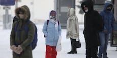 Rekord - hier gab es minus 49 Grad am Wochenende