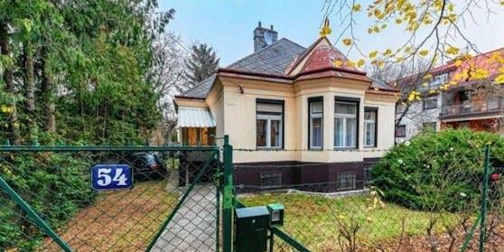 In dieser Villa in Wien-Hietzing feierten die Teenager eine Corona-Party.