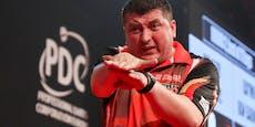 Suljovic verliert bei Darts-WM Krimi gegen Ex-Champion