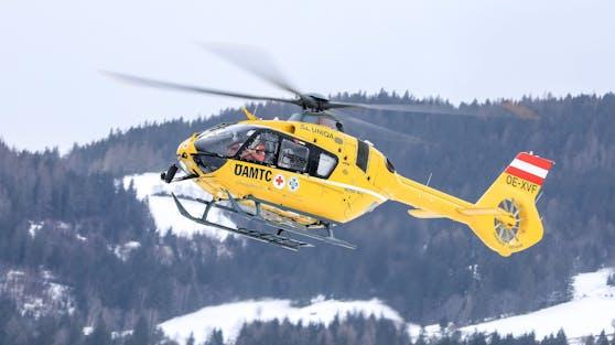 Ein Notarzt-Hubschrauber des ÖAMTC. (Symbolbild)