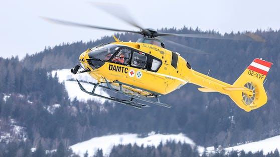 Ein Notarzt-Hubschrauber des ÖAMTC. Symbolbild