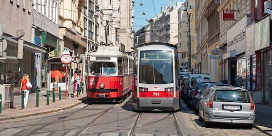 Aktuell kommt es bei einigen Straßenbahnlinien in Wien zu Verzögerungen (Symbolbild).