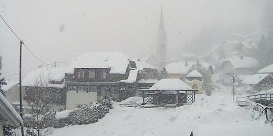 Halber Meter Neuschnee in Kärnten. Archivbild