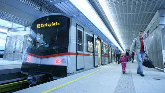 U2 fährt in Wien von Freitagfrüh bis Sonntagabend nur zwischen Seestadt und Praterstern.