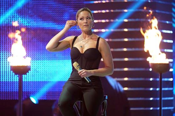 Helene Fischer beim RTL-Jahresrückblick.