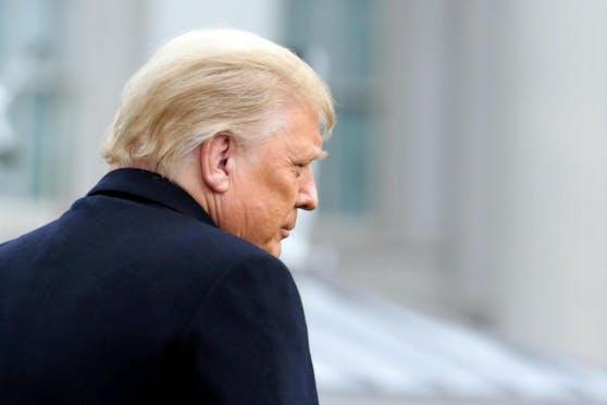 Trump will seine verheerende Niederlage nicht eingestehen.
