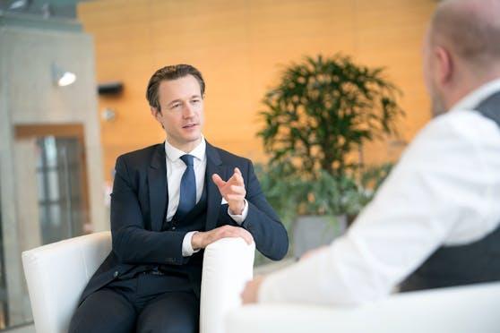 """ÖVP-Wien-Chef und Finanzminister Gernot Blümel im """"Heute""""-Interview"""