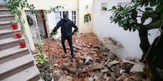 Totes Kind (12) aus Trümmern nach Balkan-Beben geborgen