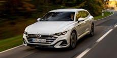 VW Arteon ist ab sofort als Plug-in-Hybrid erhältlich