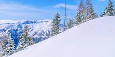 Lawine reißt Salzburger 500 Meter weit mit
