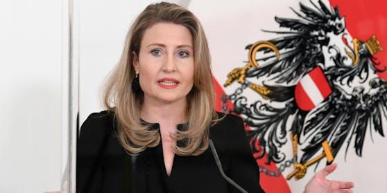 Integrationsministerin Susanne Raab (VP)
