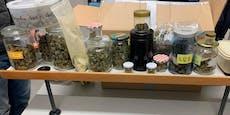Deutscher fährt mit riesiger Menge Cannabis durch Wien