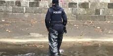"""Darum bastelte sich Wiener Polizistin eine """"Wathose"""""""