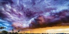 2020 ergingen 1,3 Millionen Blitze über Österreich