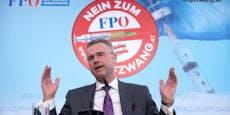 """FPÖ wettert gegen Freitesten und """"Impfzwang"""""""
