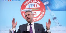 FPÖ-Chef Norbert Hofer gegen Corona geimpft