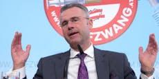 FPÖ-Chef Hofer hofft, dass Kanzler Kurz DAS nicht tut