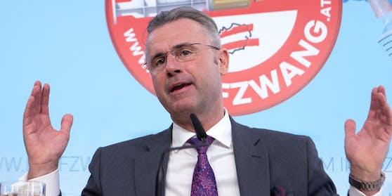 FPÖ-Chef Norbert Hofer fordert ein Ende des Lockdowns.